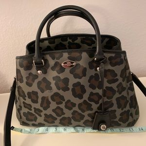 Coach Margo Leopard/Cheetah Bag EUC